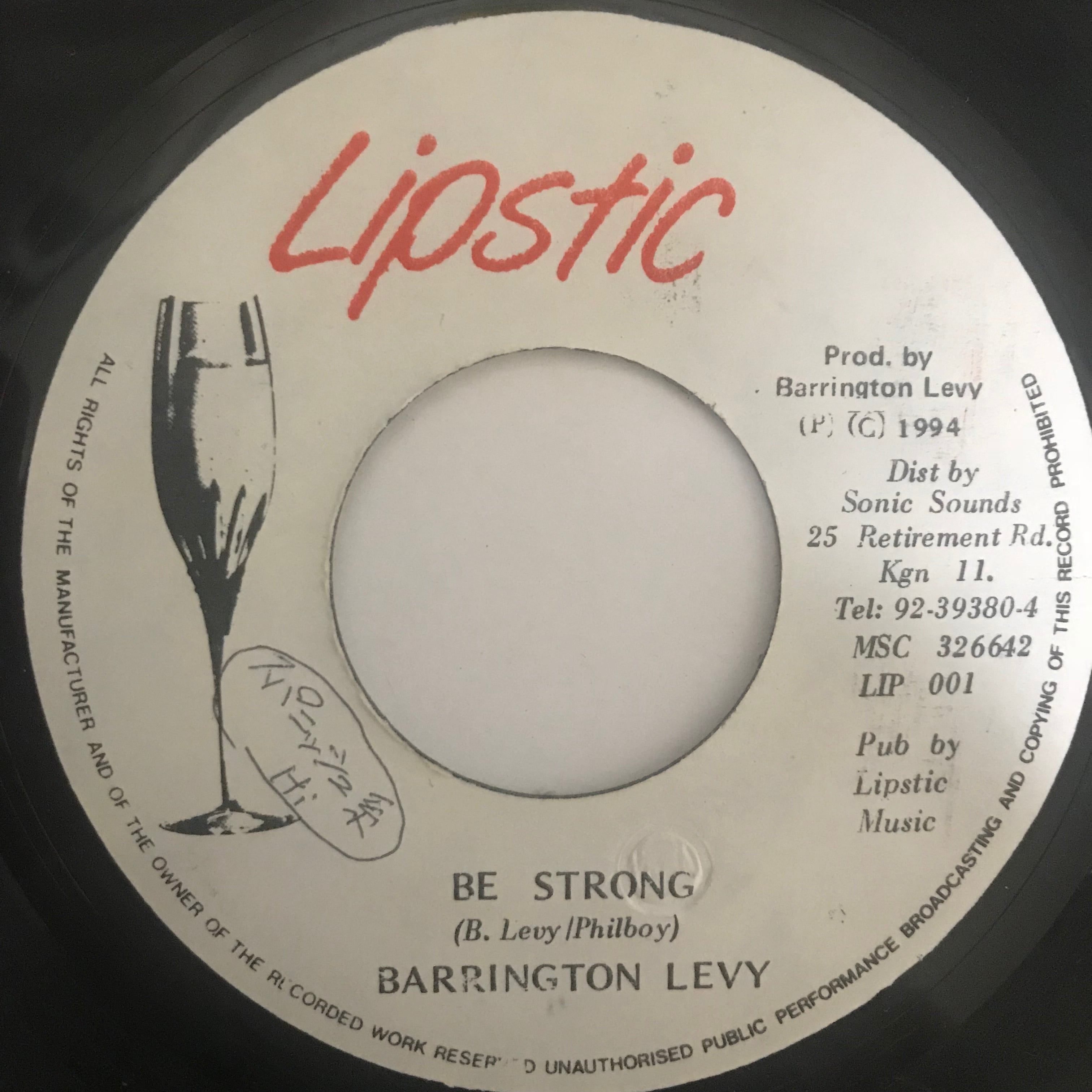 Barrington Levy(バーリントンリビィ) - Be Storong【7-10769】