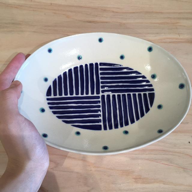 『高江洲陶磁器』 マグカップ(低)茶唐草