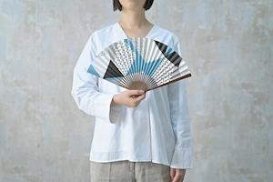 [Men's] UMO#3 水色 Mizuiro 扇子