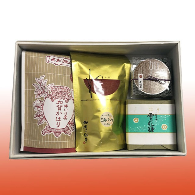 加賀茶ギフト(長保屋茶舗)