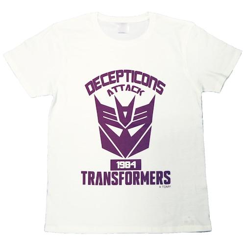 【トランスフォーマー】戦え!超ロボット生命体トランスフォーマー|デストロンエンブレム Tシャツ(再販版)