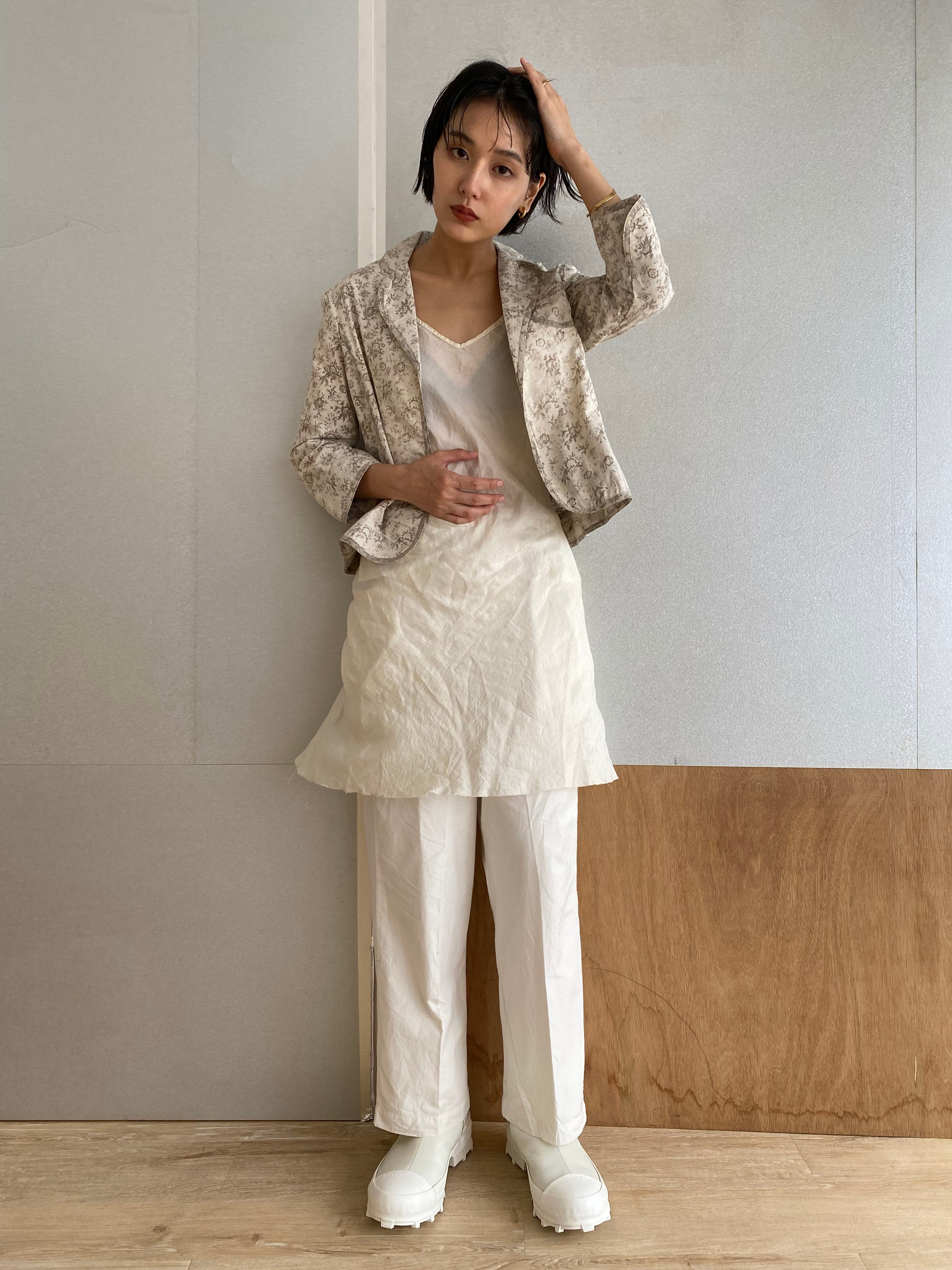 "Waist Shape Jacket ""dub print"" organic cotton"