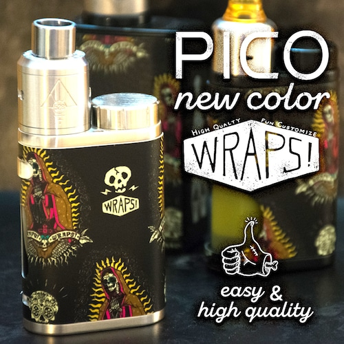 WRPAS! for iStick Pico / ピコスキンシールV1.0