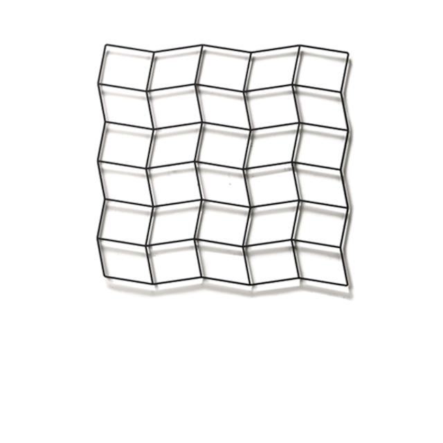 Fe Wall Deco ridge 6×5