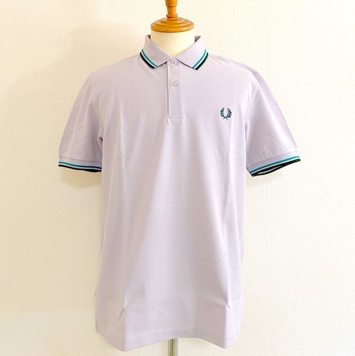 The Fred Perry Shirt M33: Rain / Fanfare / Ivy