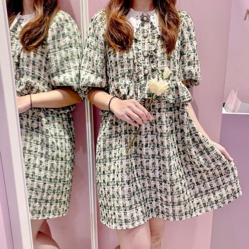 ♡送料無料♡【Sister Jane】Vanity Tweed Mini Dress