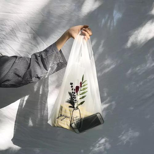Bag♡オーガンジーエコバッグ ブーケット