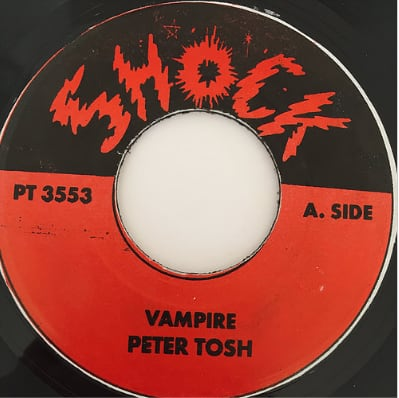 Peter Tosh(ピータートッシュ) - Vampire【7'】