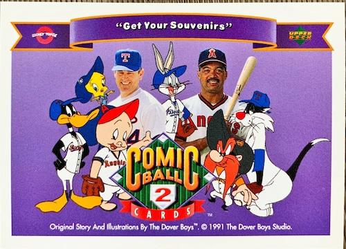 MLBカード 92UPPERDECK Looney Tunes #172