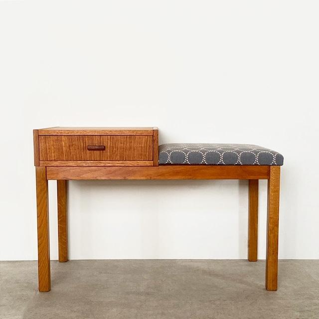 Telephone bench with mina perhonen dop tambourine / OH010