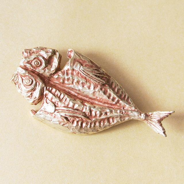 《魚/アジ》 ブローチ アジの開き Palnart Poc パルナートポック 鯵 PB046
