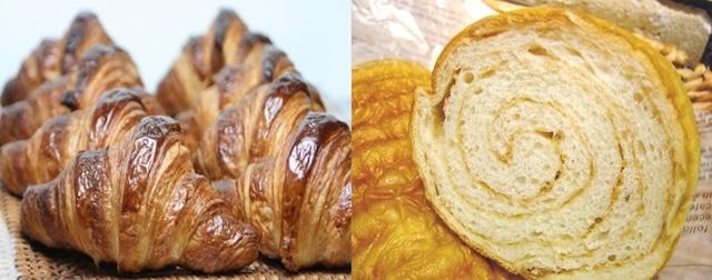 メープル1本 と 白神酵母クロワッサン-3個♪ 白神こだま酵母 国産小麦全粒粉&発酵バターのサクサク&もっちり♪