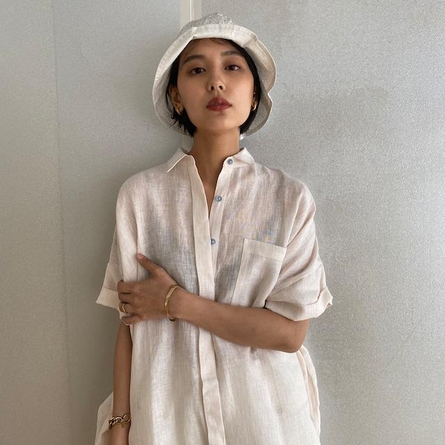 "Reversible buket hat ""black"" organic cotton"