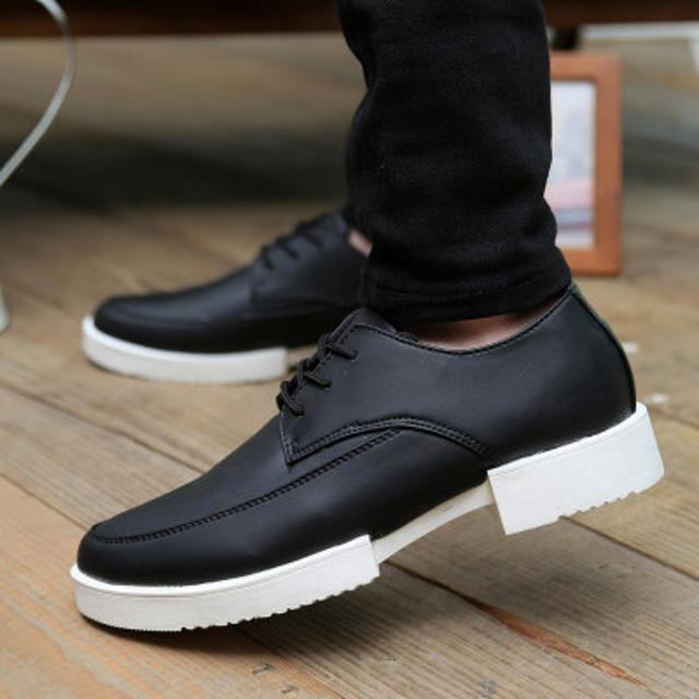 ウォーキングシューズ ブーツ レザー 革 メンズ シューズ 革靴 軽量 カジュアル shs-8