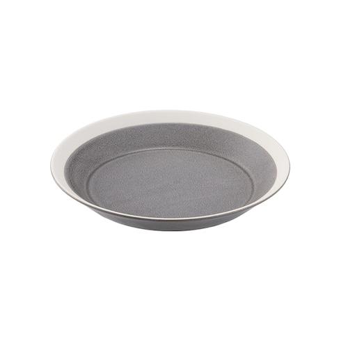 yumiko iihoshi porcelain(イイホシ ユミコ) Dishes プレート180 moss gray matte