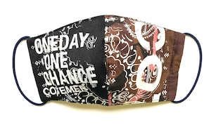 【COTEMER マスク 日本製】 ONE DAY ONE CHANCE PRINT MASK o-rkp01