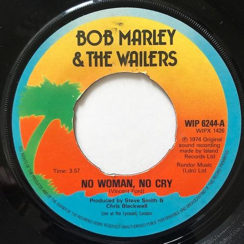 Bob Marley & The Wailers - No Woman, No Cry【7-20669】