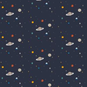 テキスタイル「宇宙」カットクロス75x100cm