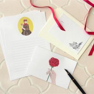 レターセット rose letter