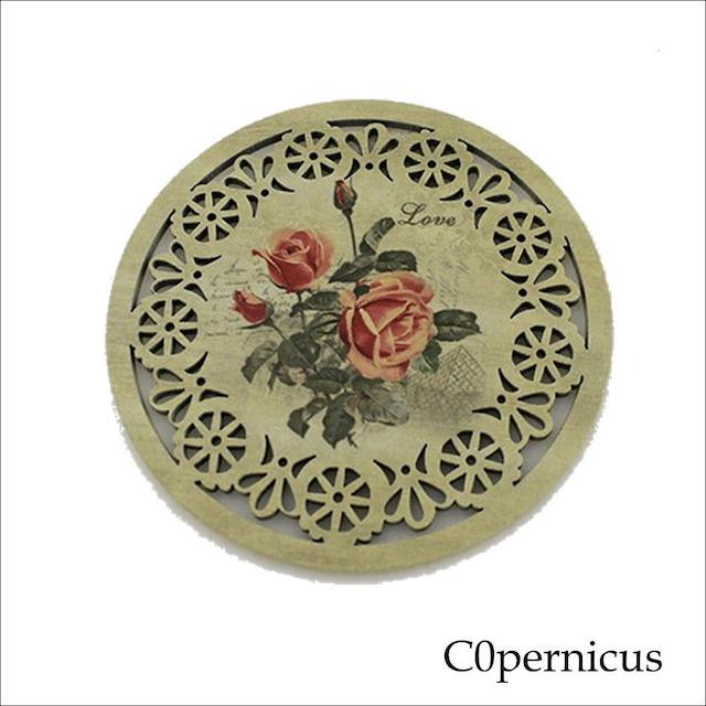 バラコースター単品(A)薔薇雑貨:浜松雑貨屋 C0pernicus