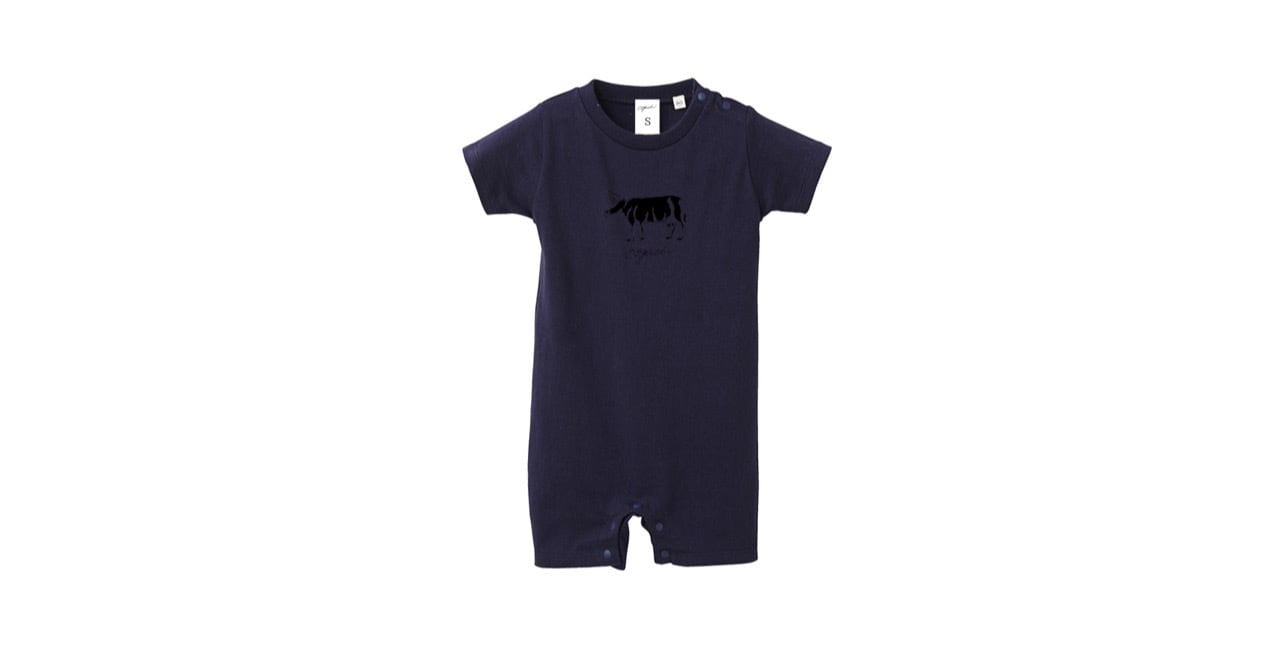 coguchi baby rompers 80cm (NVY)