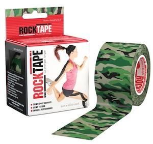 ロックテープ-スタンダード-グリーンカモ / ROCKTAPE 5cm*5m standard GreenCamo