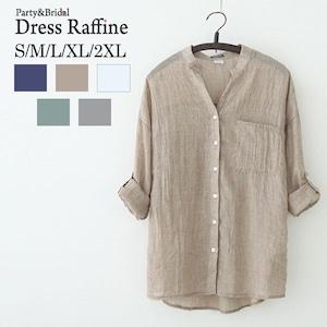 カジュアルシャツ トップス 夏 羽織りにも 薄手 サマーブラウス リネンシャツ 綿麻 tp0004