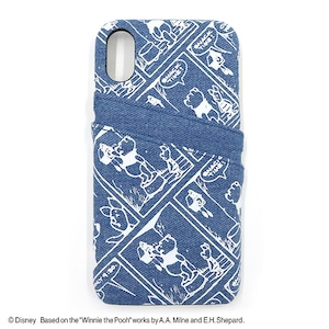PRINT/POOH iPhone CASE/YY-D016 BL