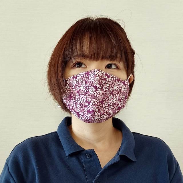 【三段マスク】受注販売|フリーサイズ