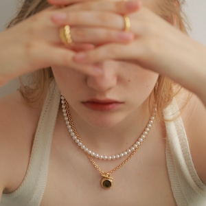 Fresh Water Pearl Necklace [WM-NK502]