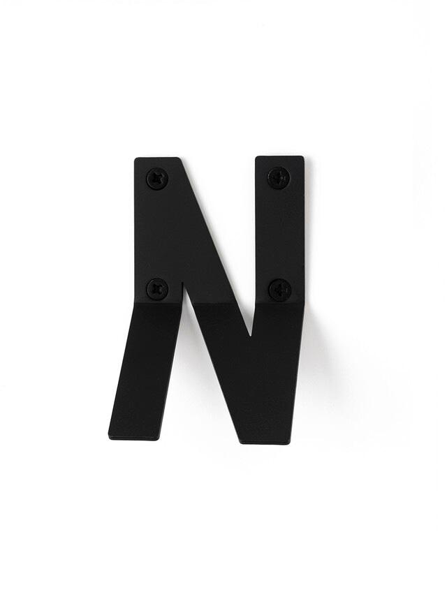 LETTER HOOK  Nフック 壁掛け サイン 英文字 アルファベット