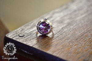 【ビンテージ時計】1978年3月製造 セイコー指輪時計 日本製 当時の定番モデル おいしそうな葡萄色(パープル)の文字盤♪