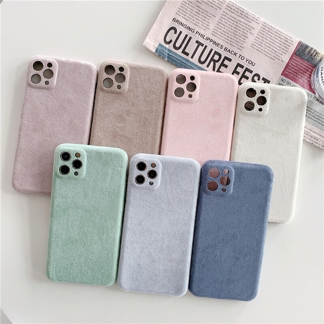 Bright colors in winter iphone case