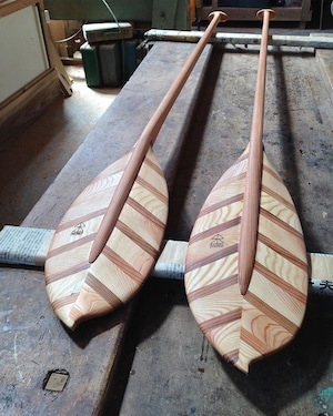 KUKU Paddle_01【Wood Design Award model】