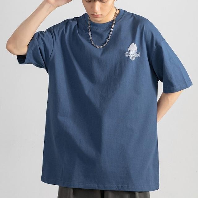バックプリントTシャツ YH8933