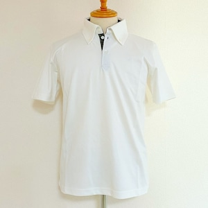 Button Down Polo Shirts White