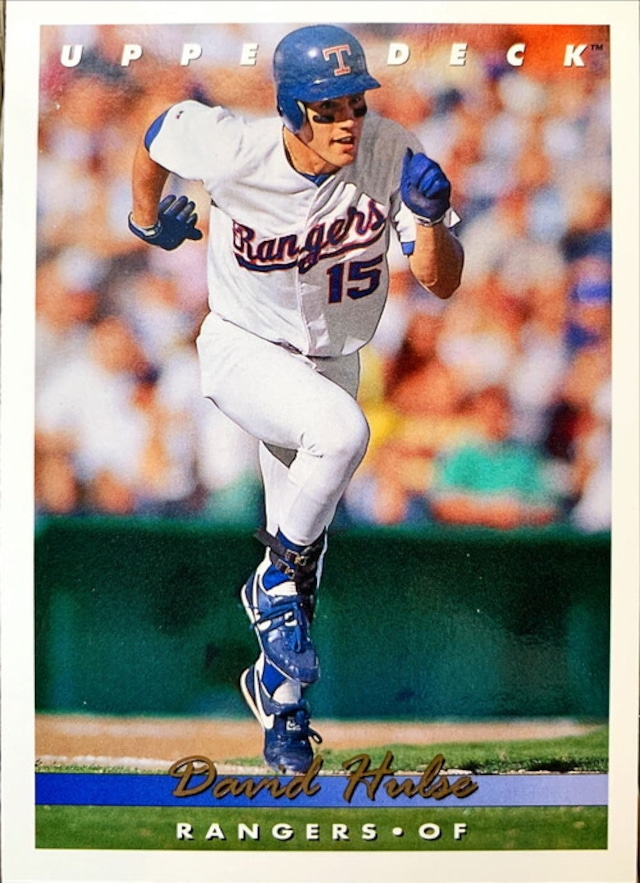 MLBカード 93UPPERDECK David Hulse #374 RANGERS