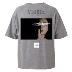 vibeca ポケットTシャツ gray【ワイドフィット】