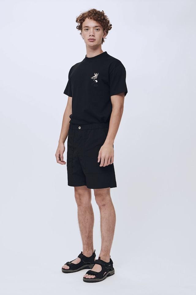 Soulland porter shorts black