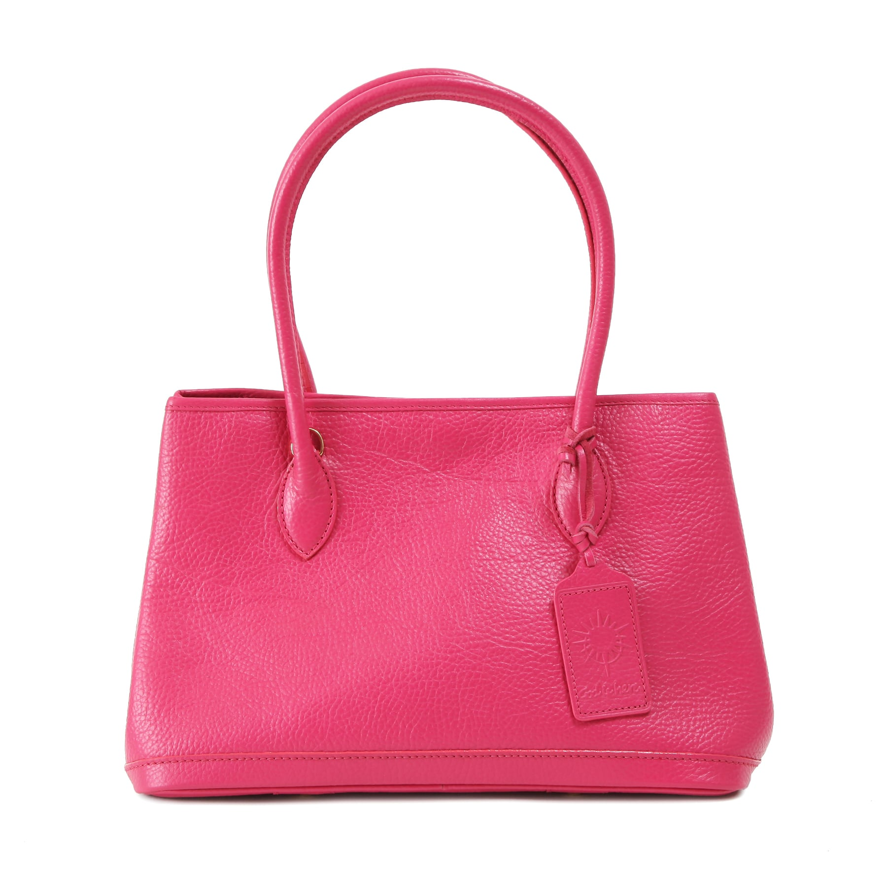 牛革製バッグ/キンバリー ピンク