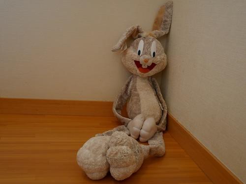 LOONEY TUNES Bugs Bunny ルーニー・テューンズ バックス・バニー くたくたぬいぐるみ アメリカンビンテージ