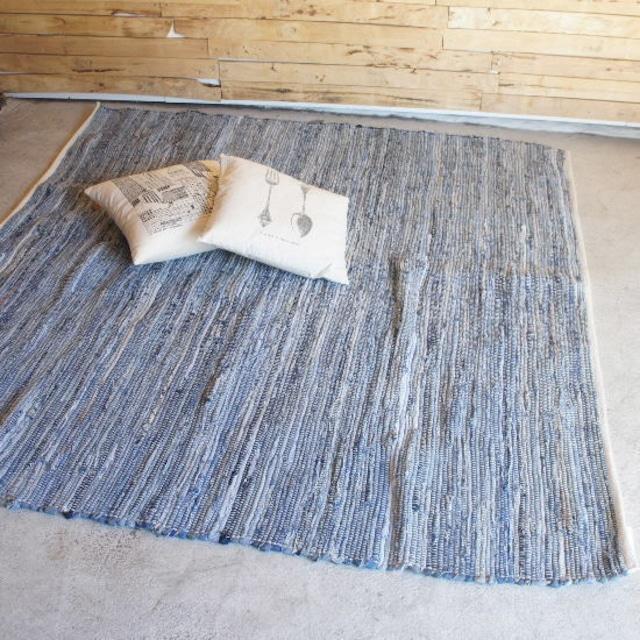 デニムチャンディラグ 正方形 LL 180×180cm
