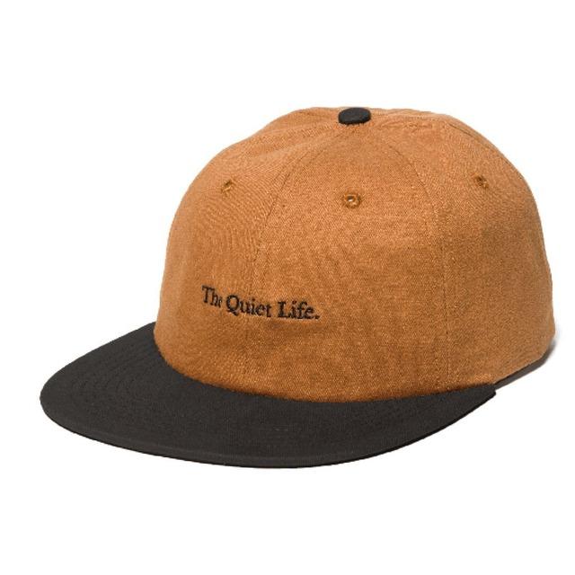 THE QUIET LIFE SERIF POLO HAT CARAMEL/BLACK