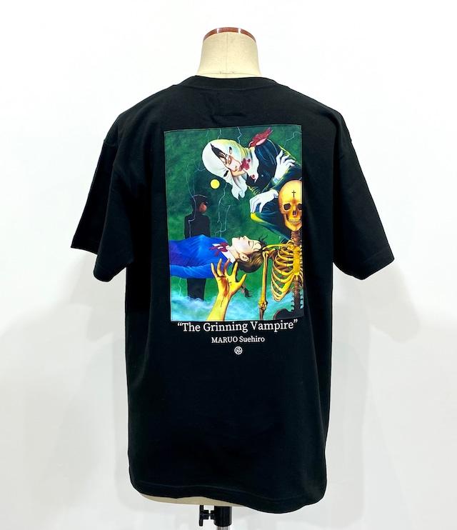 【丸尾末広】笑う吸血鬼 パッチワーク Tシャツ