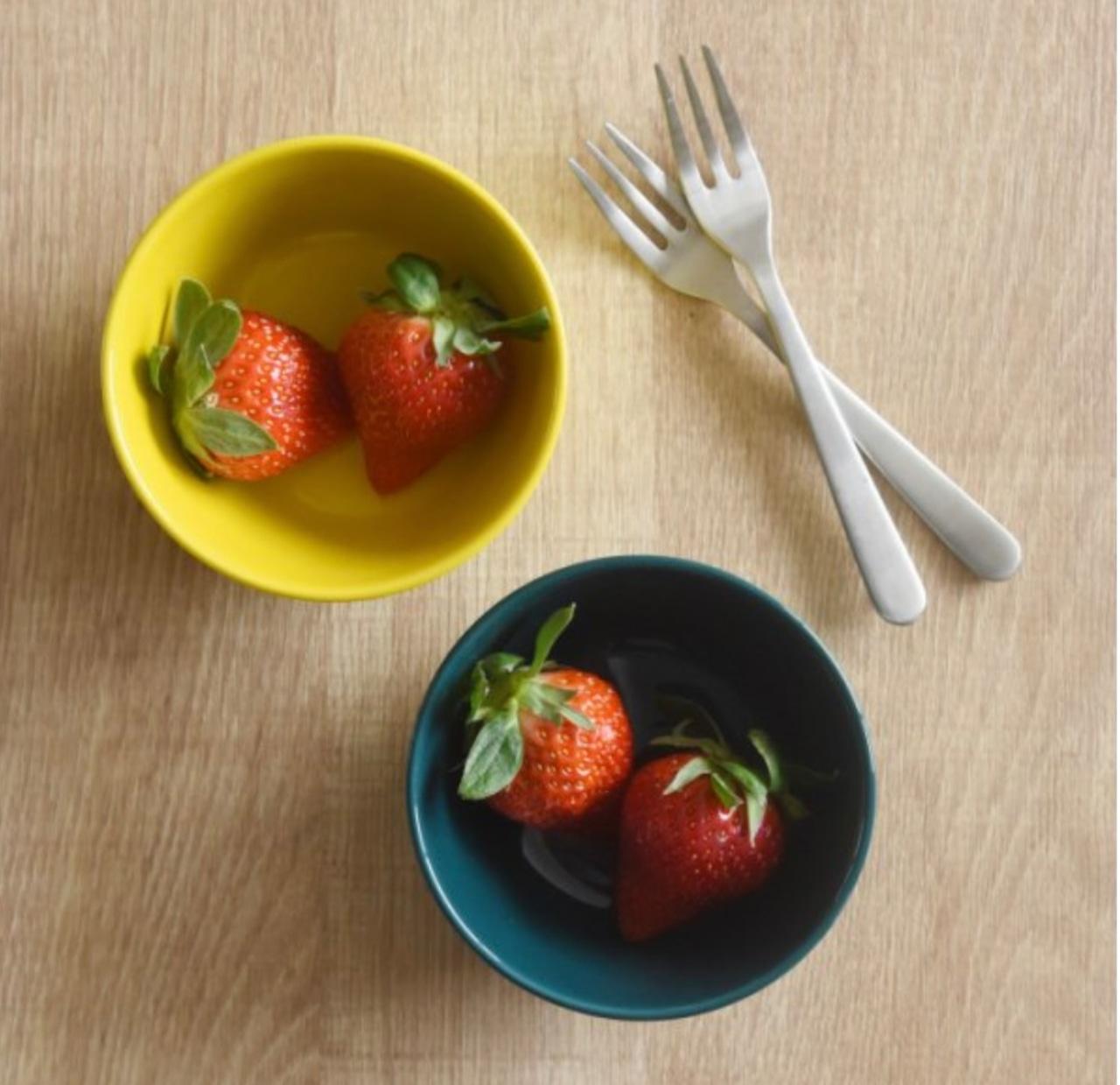 【natural69】【イロトリドリ】【ボウル M】 【波佐見焼】小鉢 デザートカップ フルーツ