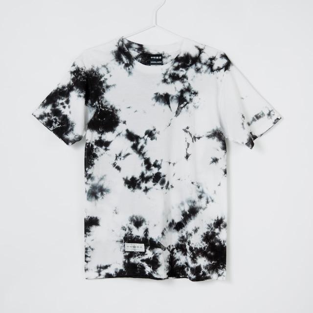 黒紋付染めTshirt 「黒霧 -くろきり-(Black fogs)」