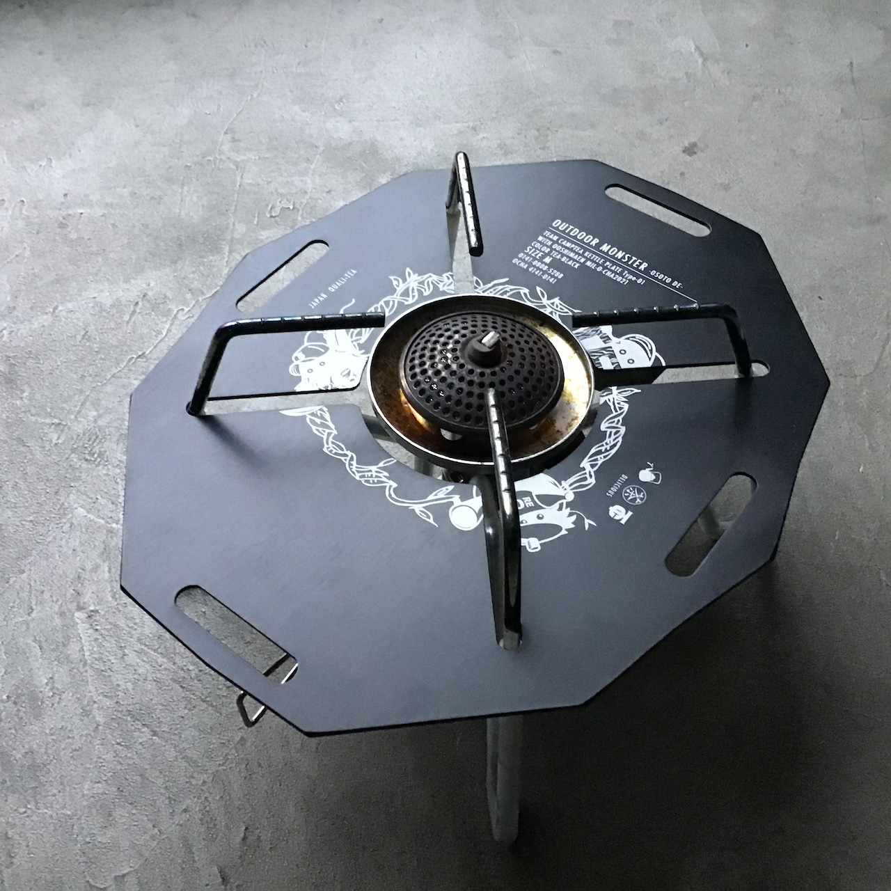 ODMteaboy バーナープレート ST-310用
