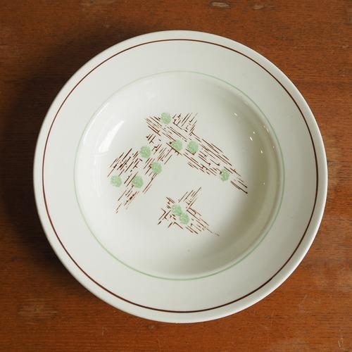 Gien(ジアン)のデッドストックのスープ皿