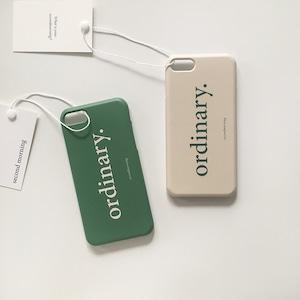 [second morning] ordinary ハード iPhoneケース(全2色)