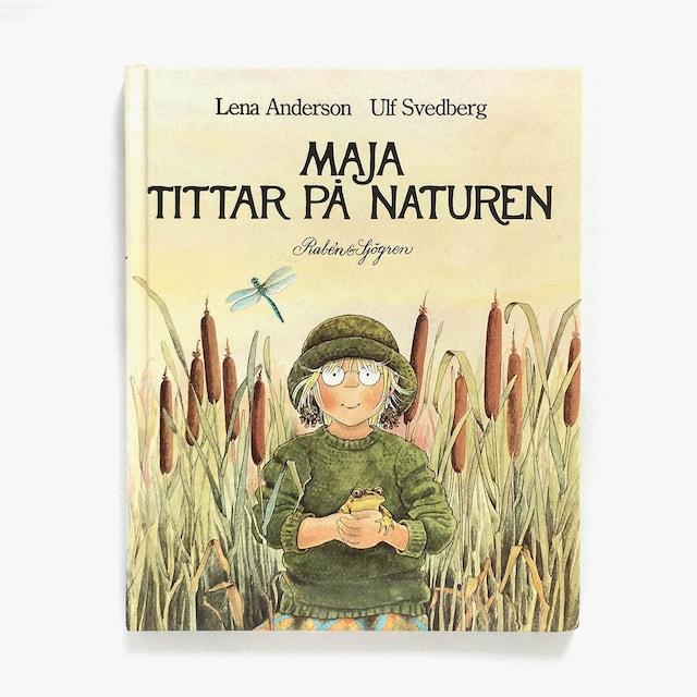 レーナ・アンデション:絵「Maja tittar på naturen(マーヤの自然観察)」《1995-01》